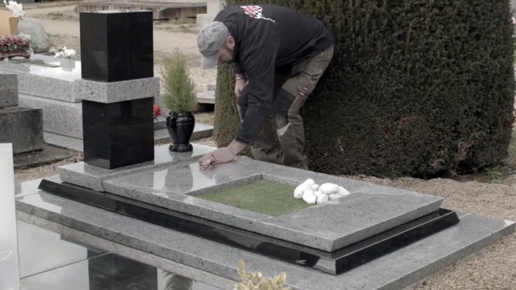 Illustration •Comment entretenir un monument funéraire ?
