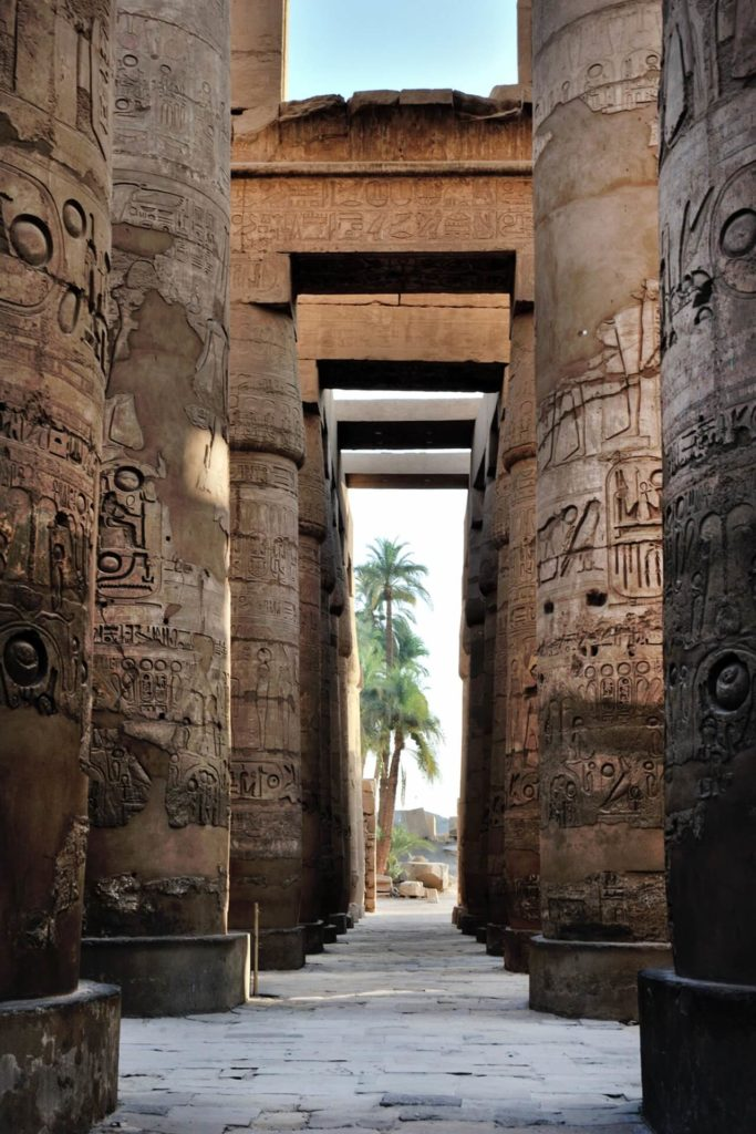 Illustration •Les différents tombeaux égyptiens de l'Ancien Empire