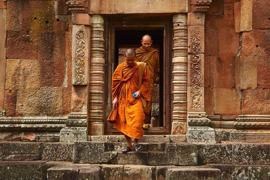 Illustration •Les principales caractéristiques d'un monument funéraire bouddhique
