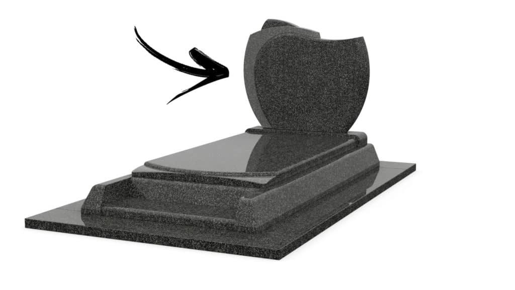 monument funéraire sans stèle