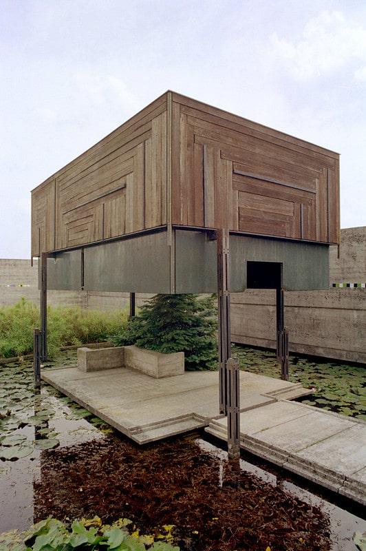 Le Pavillon de Méditation, par Scarpa