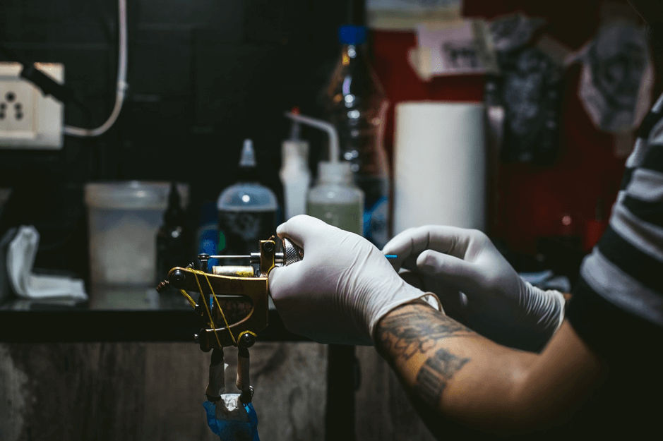 tatouage de deuil