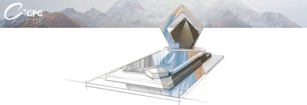 Illustration •Zoom sur un monument funéraire géométrique : le GPG 435