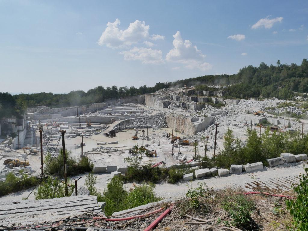 De nombreuses carrières de granit en France
