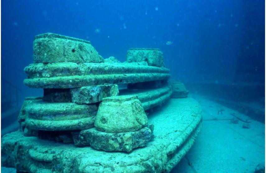 Un vrai récif sous-marin en Floride