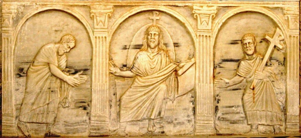 sarcophage paléochrétien rites funéraires Gaulois