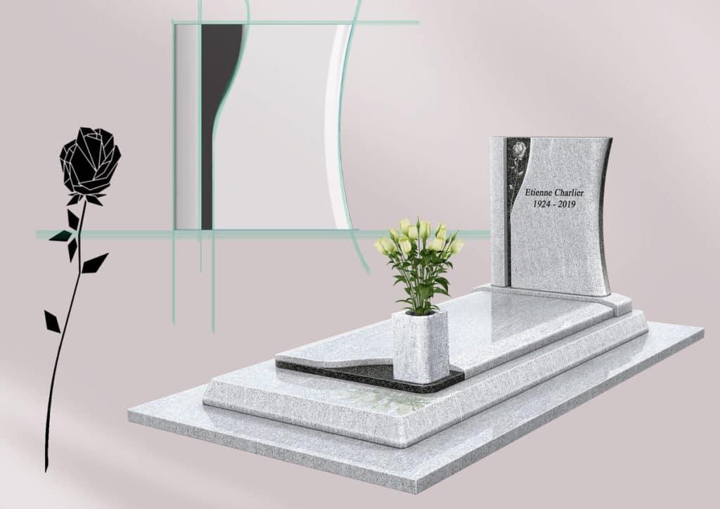 monument funéraire design GPG436