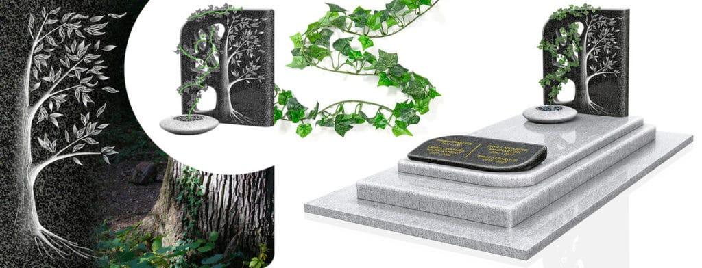 GPG 437, monument funéraire design et naturel