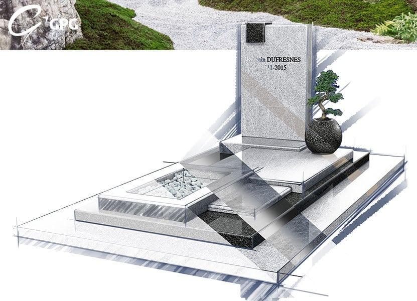 Illustration •Zoom sur un monument funéraire artistique : le GPG 424/I