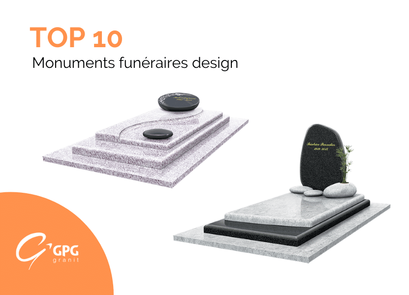 Illustration •Top 10 de nos monuments funéraires design