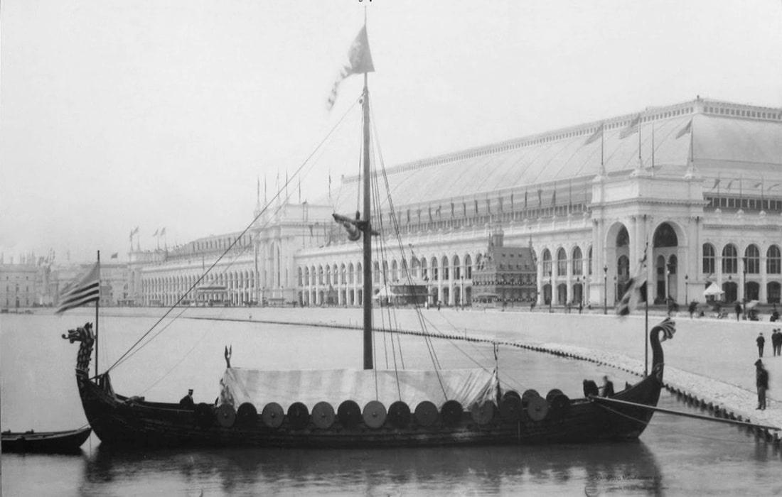 Réplique de bateau viking