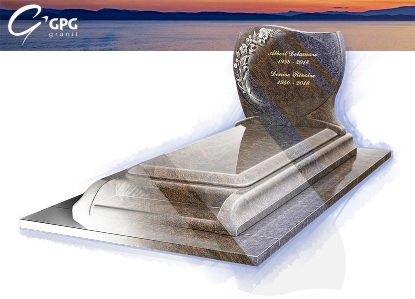 Illustration •Zoom sur un monument funéraire élégant : le GPG 276