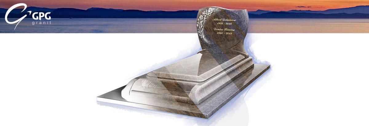 Un monument funéraire élégant