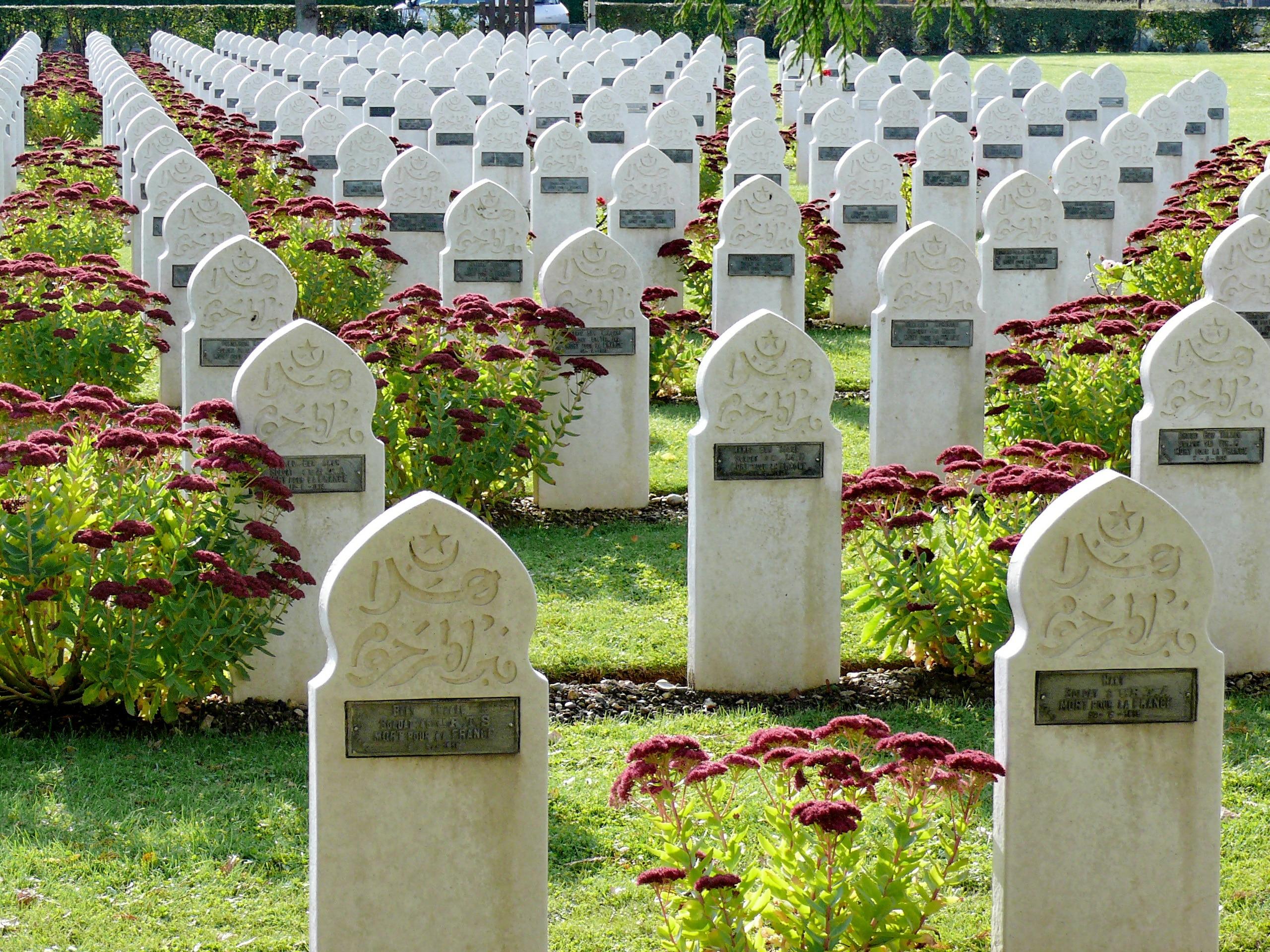 La forme particulière du monument funéraire musulman
