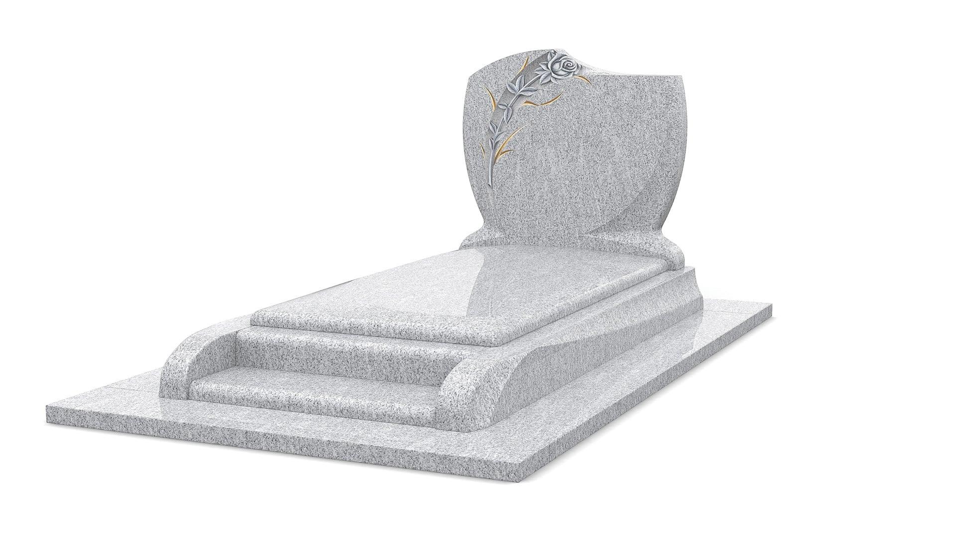 Monument funéraire GPG 289 en Viscont White