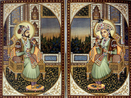 Le Taj Mahal est issue d'une histoire d'amour entre Shah Jahan et Mumtaz Mahal