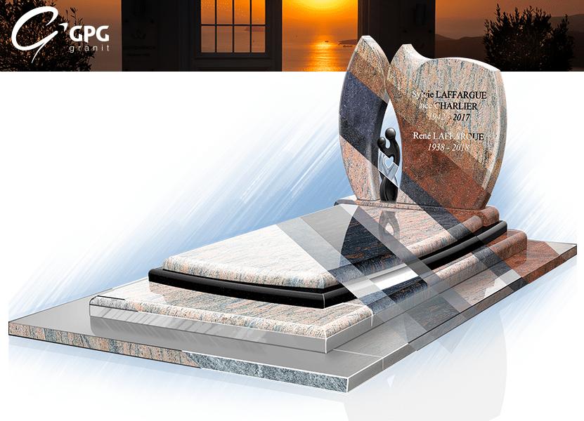 Illustration •Zoom sur un monument funéraire lumineux : le GPG 223