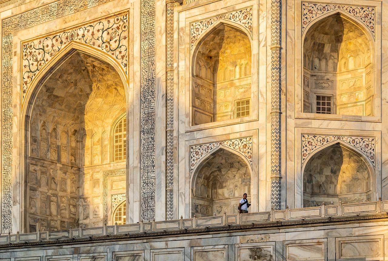 L'architecture du Taj Mahal a connu peu d'évolution dans son histoire