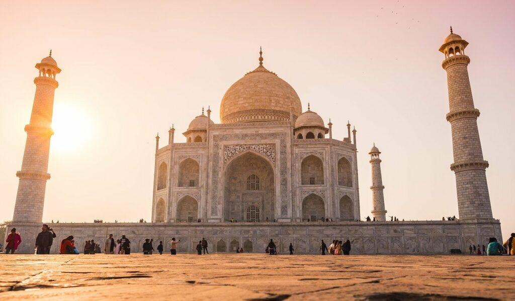 Illustration •Le Taj Mahal, retour sur l'histoire de ce célèbre monument funéraire