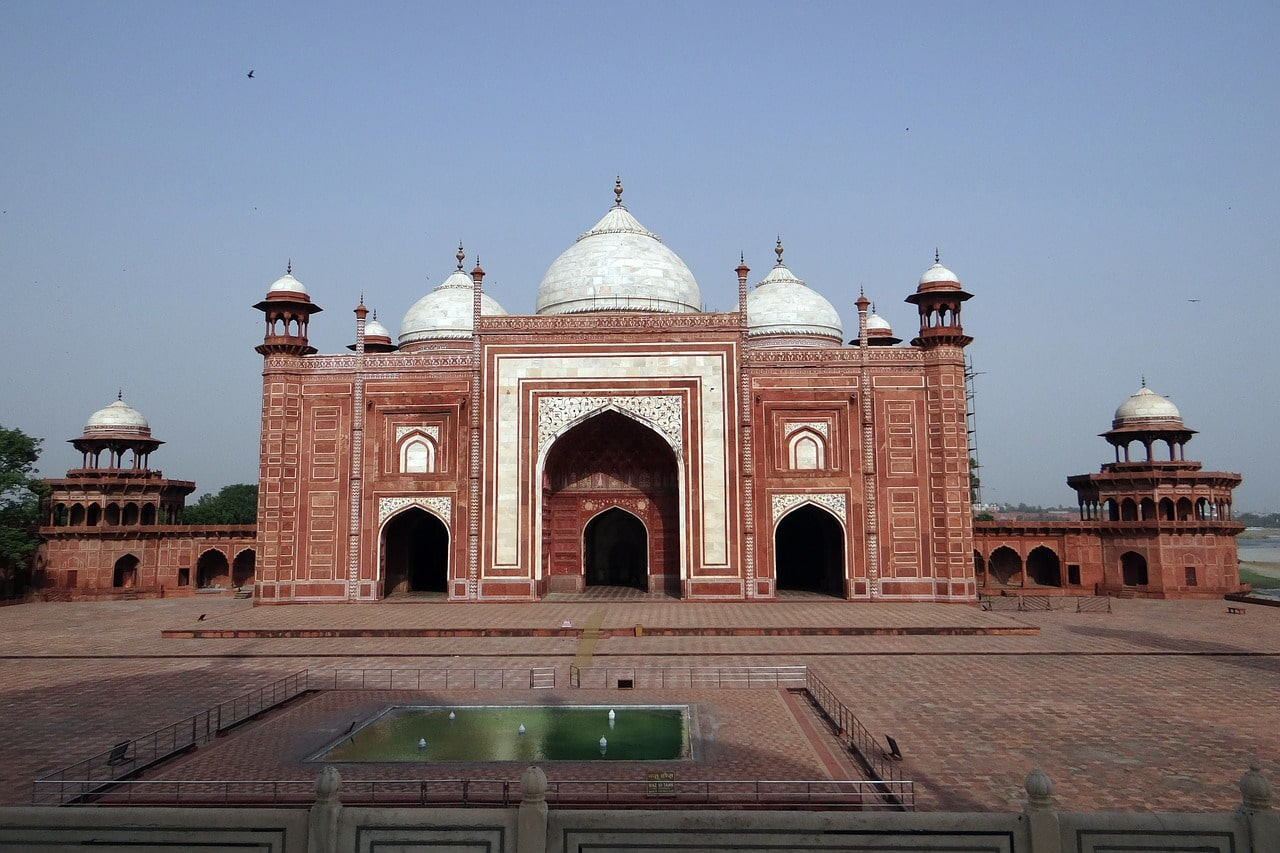 La mosquée du Taj Mahal