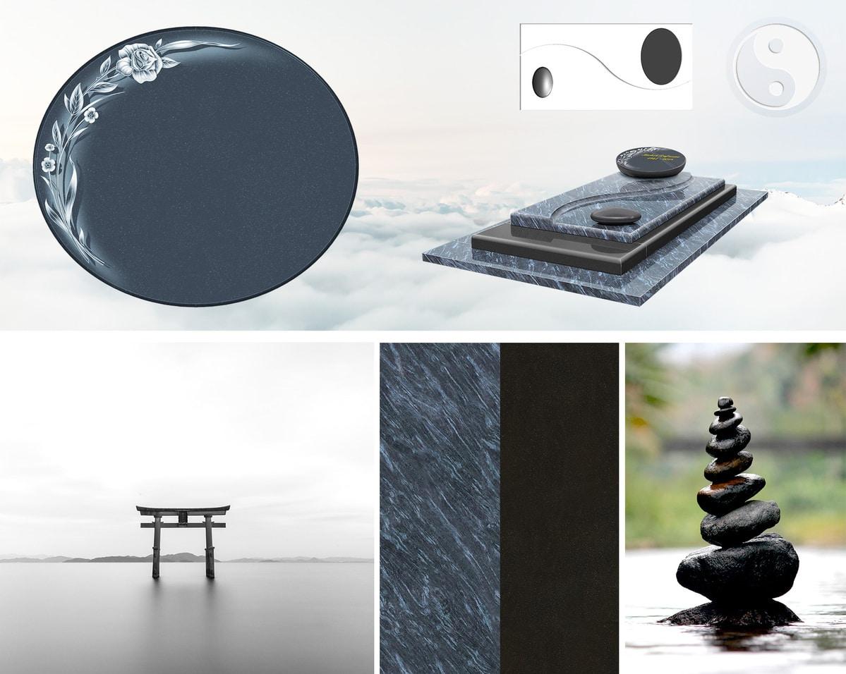 Le monument funéraire GPG 426, esprit zen...