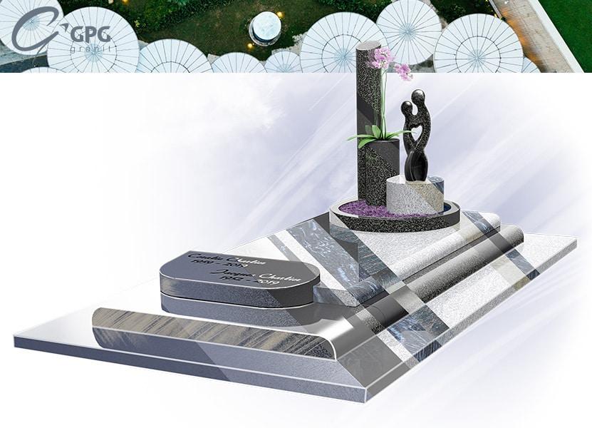 Illustration •Zoom sur un monument funéraire remarquable : le GPG 441