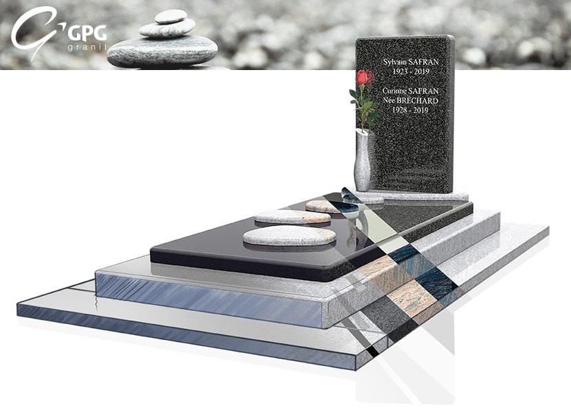 Illustration •Zoom sur un monument funéraire poétique : le GPG 444/I
