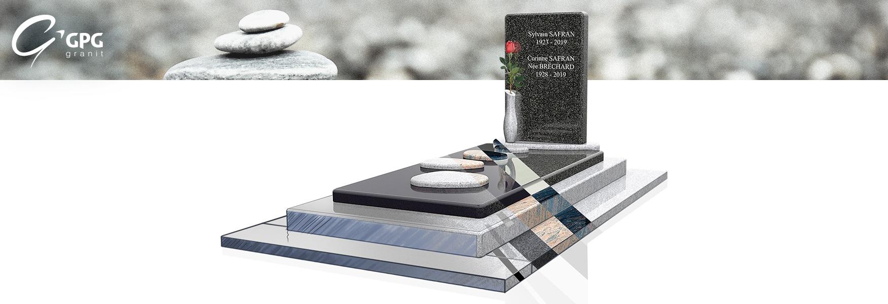 Monument funéraire poétique GPG 444