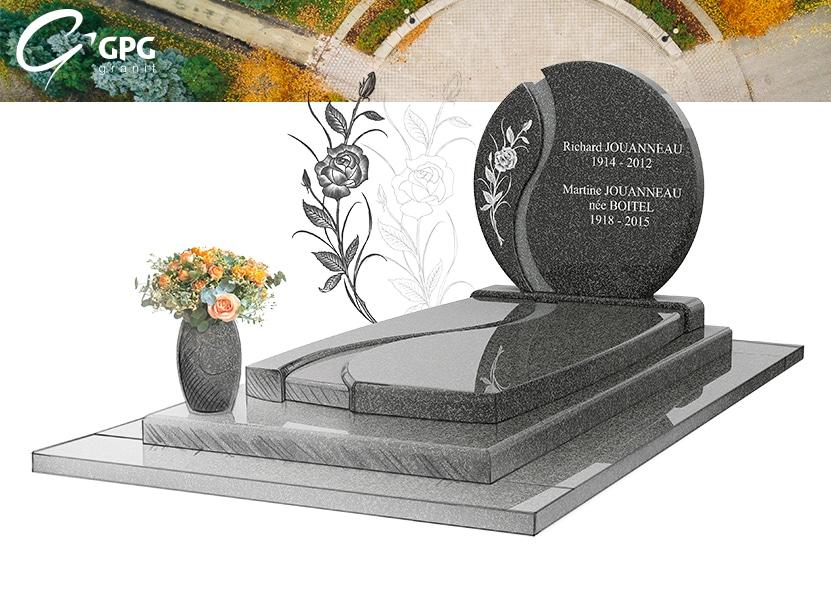 Illustration •Monument funéraire inspirant : zoom sur le le GPG 256 R56