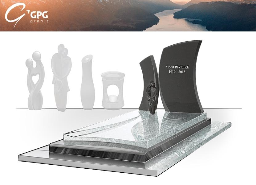 Illustration •Zoom sur un monument funéraire élancé : le GPG 415/I