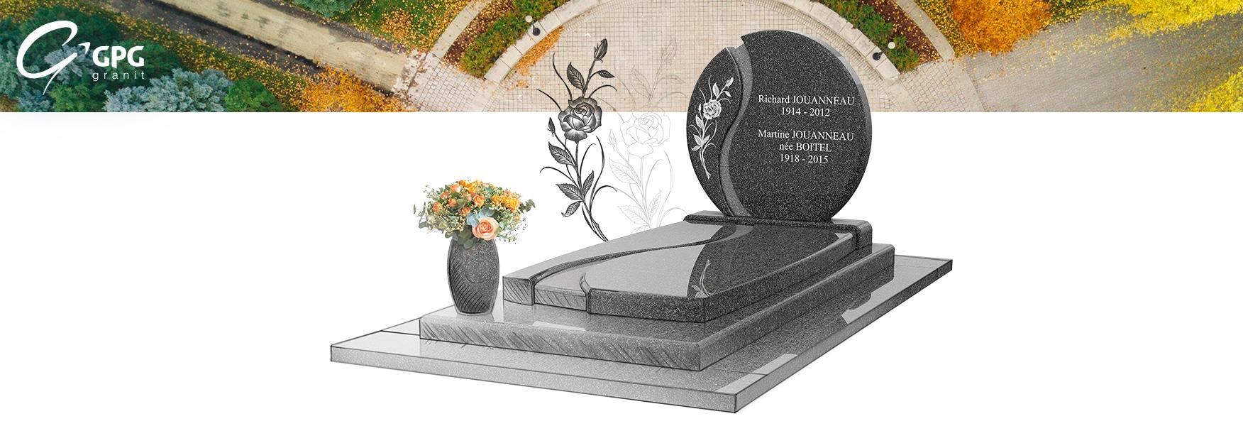 Le monument funéraire inspirant GPG 256, à la fois moderne et classique