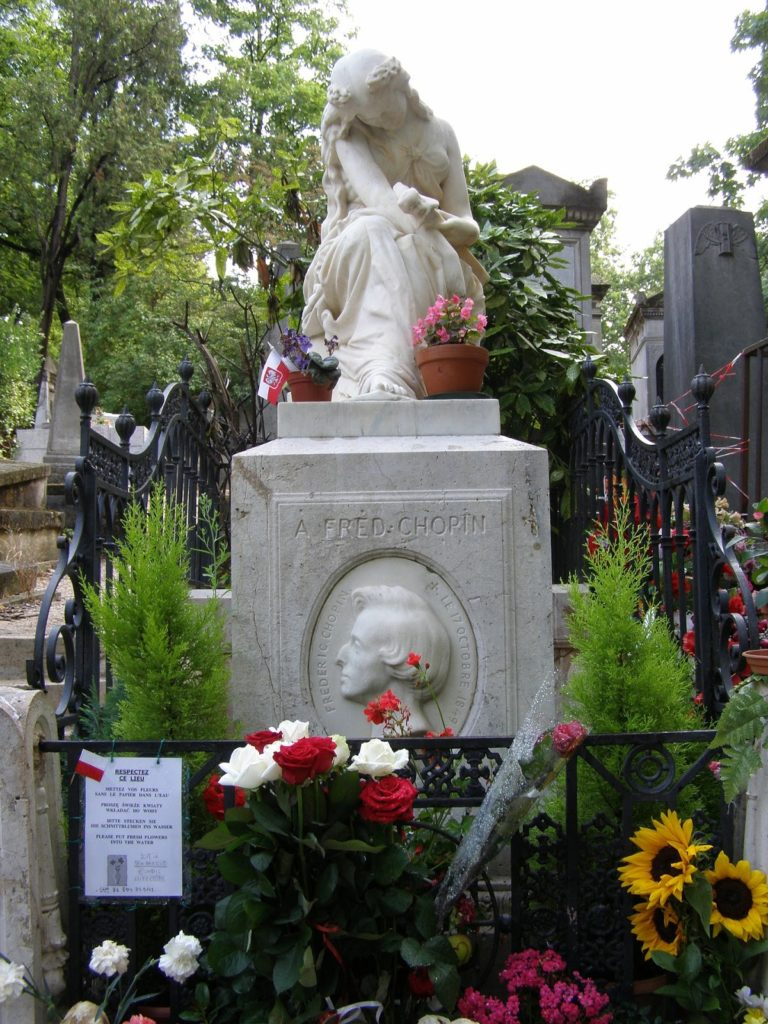tombe frederic chopin