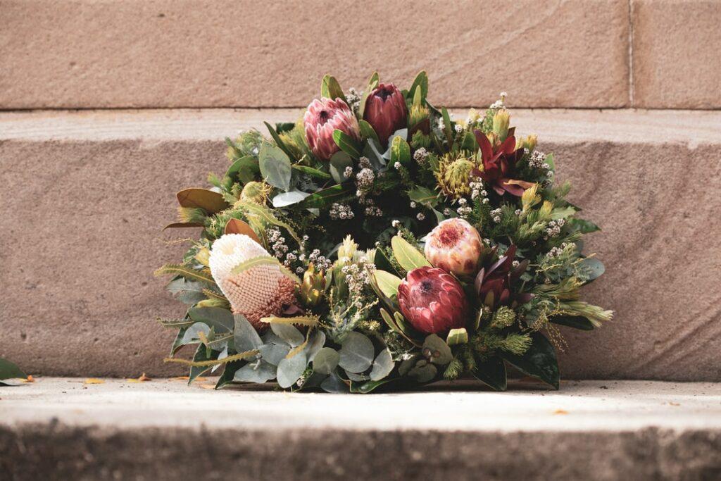 Illustration •Quelles fleurs pour un enterrement ?