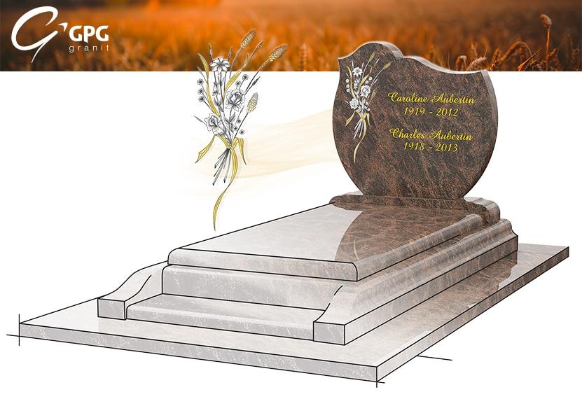 Illustration •Zoom sur un monument funéraire champêtre : le GPG 16/A G37