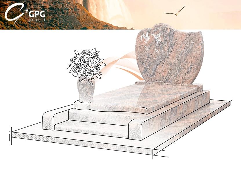 Illustration •Zoom sur un monument funéraire d'inspiration romantique : le GPG 232 R32