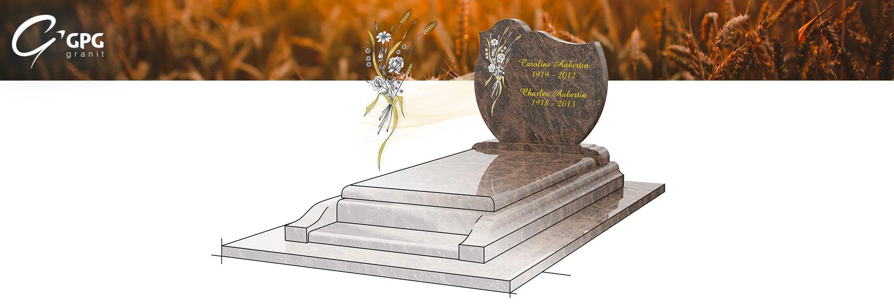 Monument funéraire champêtre