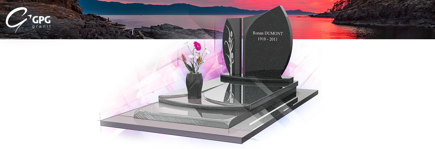 Monument funéraire ciselé GPG 211 R11