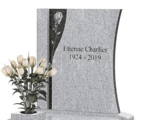Motif de gravure sur pierre tombale GPG 439