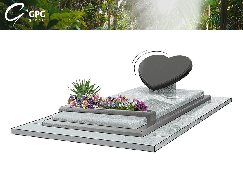 Illustration •Zoom sur un monument funéraire à l'esprit lyrique : le GPG 412