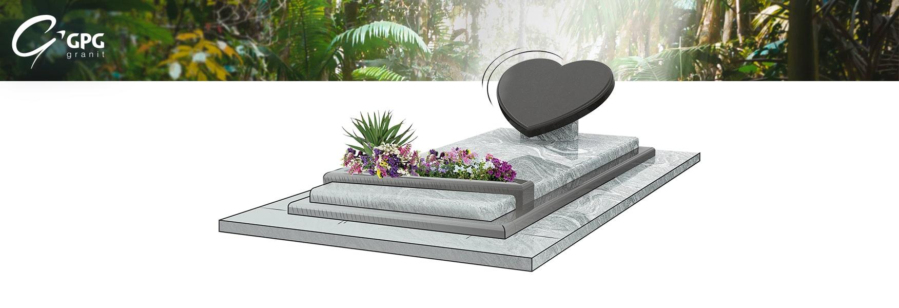 Monument funéraire à l'esprit lyrique