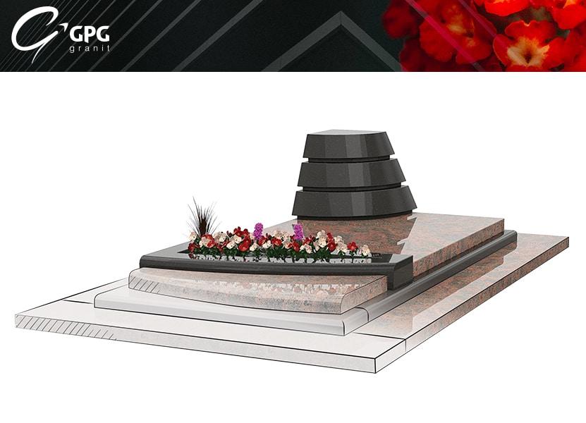Illustration •Zoom sur une sépulture moderne : le GPG 400/B