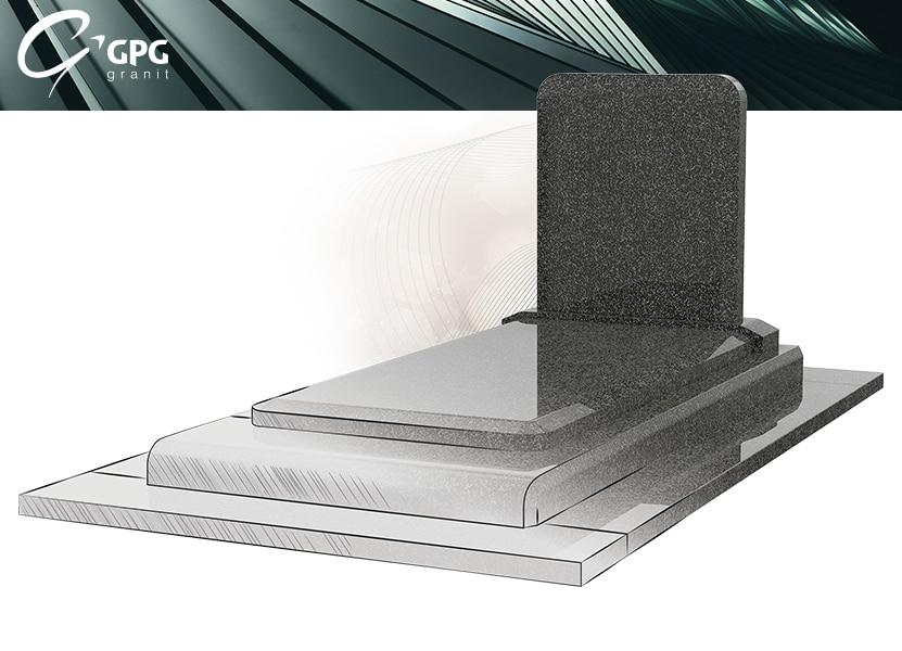 Illustration •Zoom sur un monument funéraire solennel : le GPG 275 stèle R75