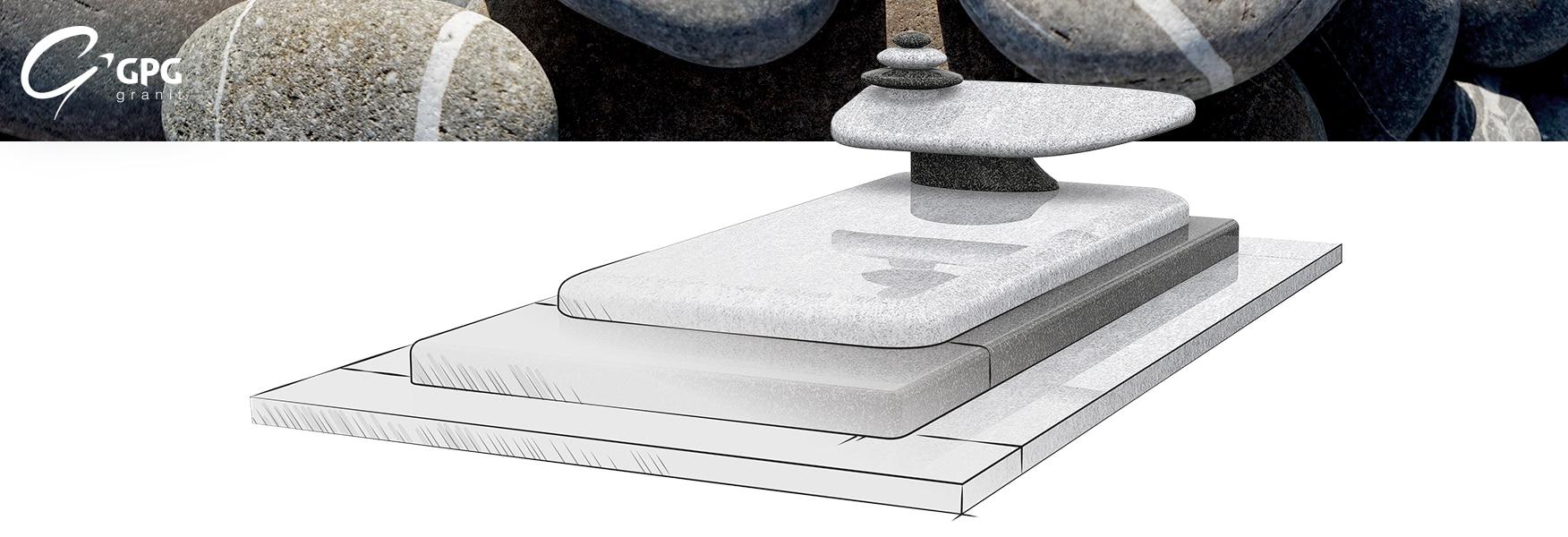 Le GPG 438/I est un monument qui s'élève, avec des pierres apaisantes