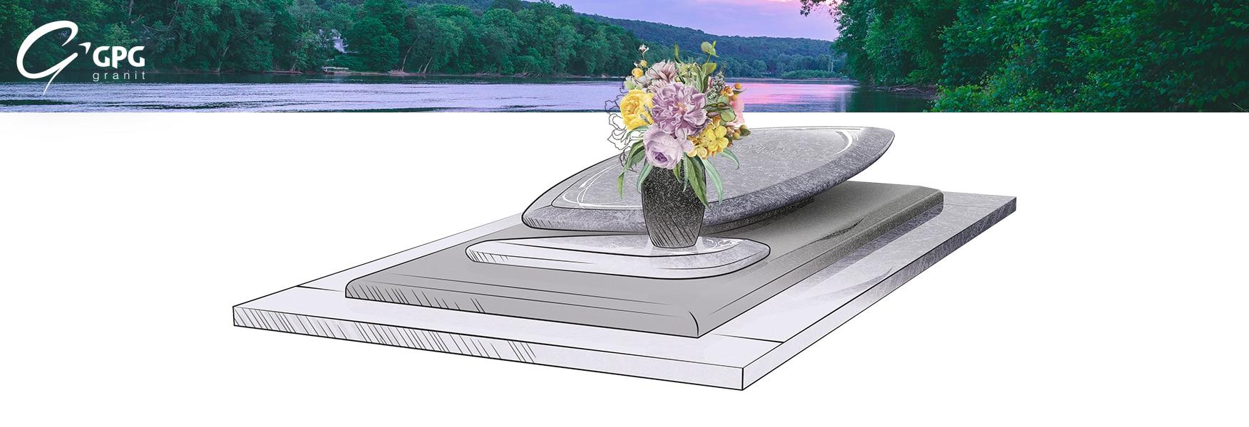 Monument funéraire à l'univers apaisant, le GPG 445/I