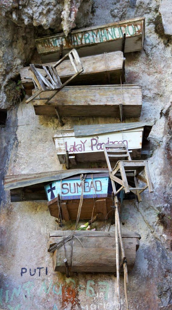 Les cercueils suspendus à la montagne, Sagada