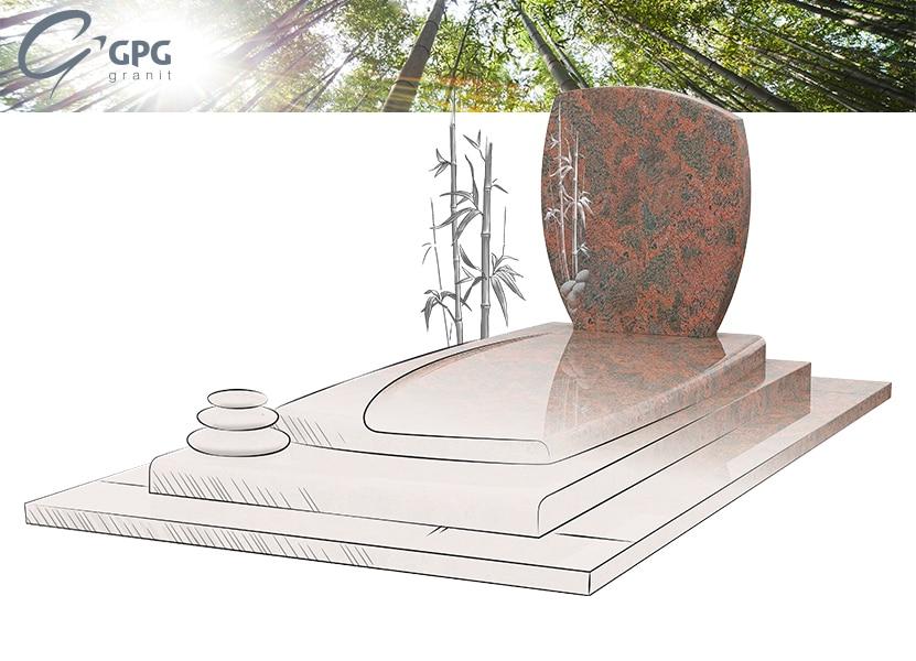 Illustration •Zoom sur le monument funéraire GPG 263