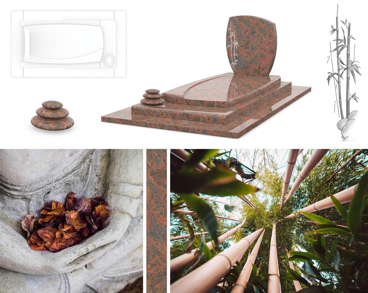 Les différentes inspirations du monument funéraire GPG 263, la nature au centre de tout