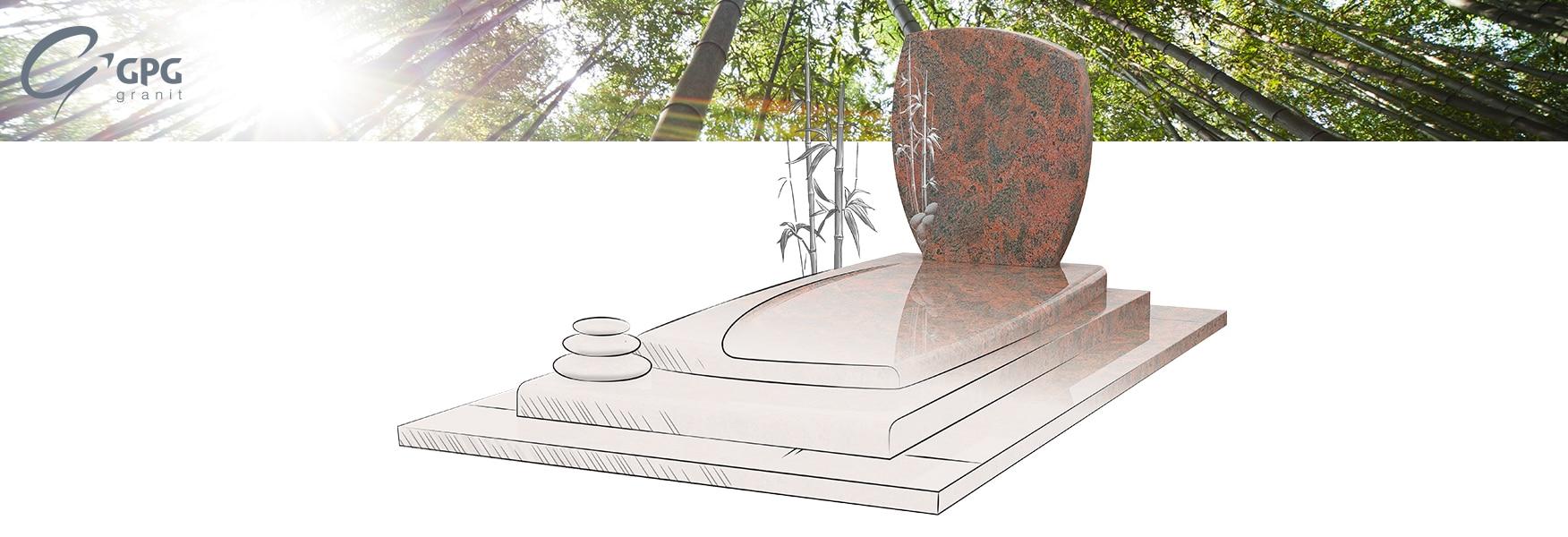 Monument funéraire GPG 263, une sépulture personnalisable