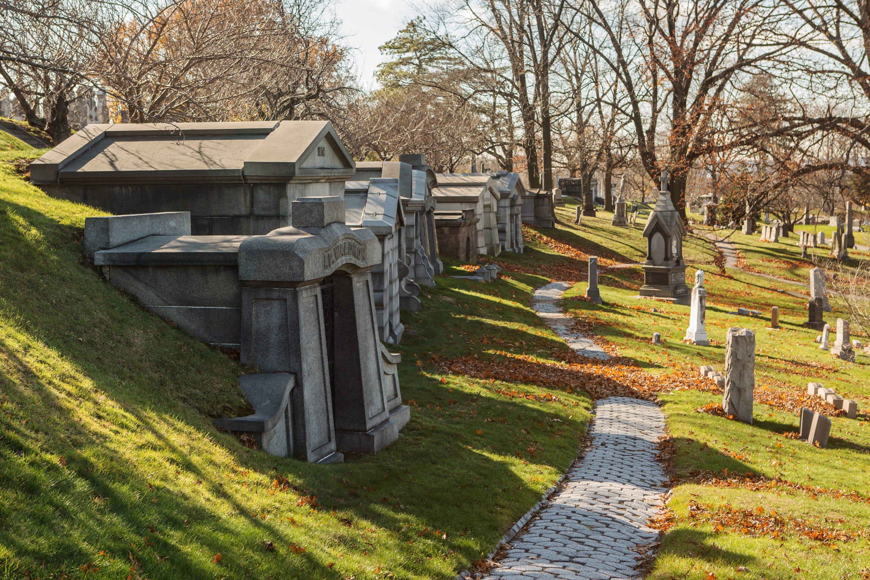 Se promener à Green-Wood-Cemetery
