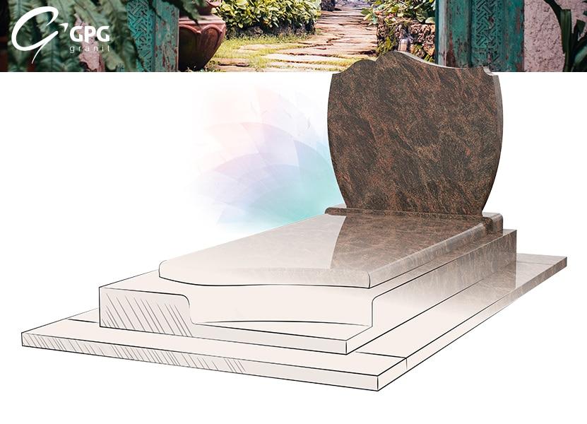 Illustration •Focus sur le monument funéraire GPG 2 et sa stèle H5